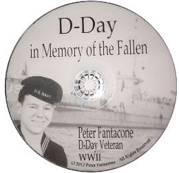 D Day in memory of the fallen